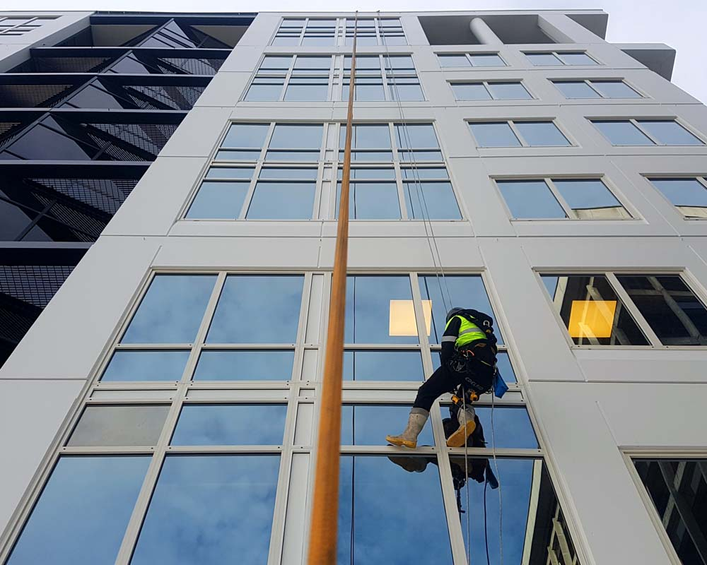 Gallery – Capital Height Services - Building Maintenance Abseil Company